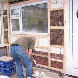 Rydale Windows- Conservatory build