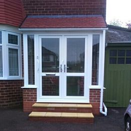 Rydale Windows - Lean To Porch