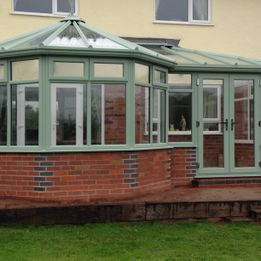 Rydale Windows - P-Shape Conservatories